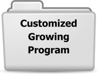 Customized Growing Program