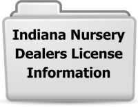 Indiana Nursery Dealers License Information
